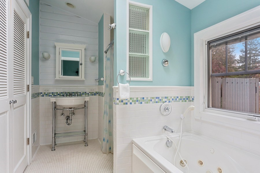 Real Estate Photography - 16125 First Ln, Union Pier, MI, 49129 - Master Bathroom