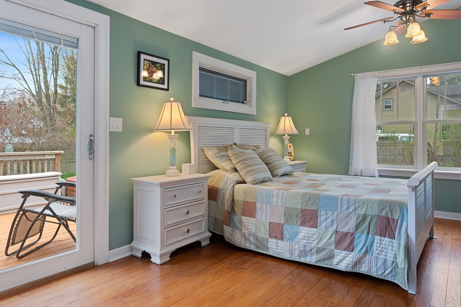 Real Estate Photography - 16125 First Ln, Union Pier, MI, 49129 - Master Bedroom