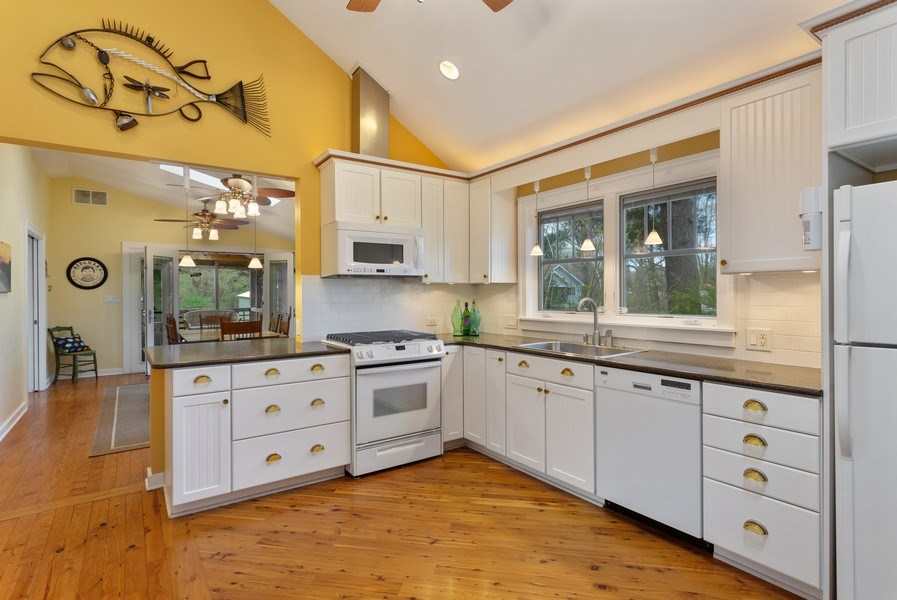 Real Estate Photography - 16125 First Ln, Union Pier, MI, 49129 - Kitchen