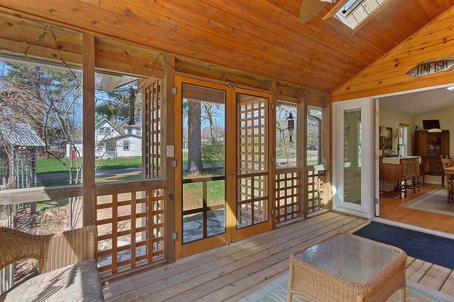 Real Estate Photography - 16125 First Ln, Union Pier, MI, 49129 - Sunroom