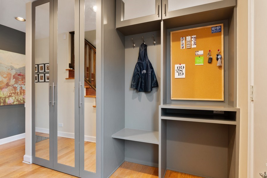 Real Estate Photography - 645 Lincoln Avenue West Ave, Highland Park, IL, 60035 - Mudroom