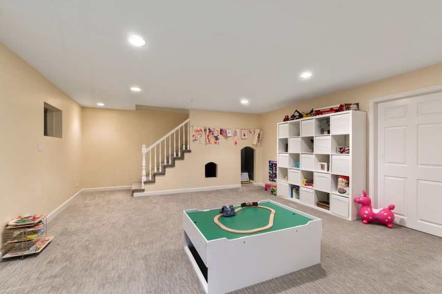 Real Estate Photography - 645 Lincoln Avenue West Ave, Highland Park, IL, 60035 - Rec Room