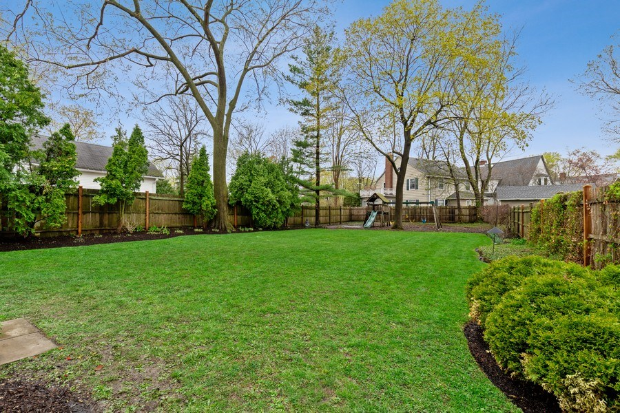 Real Estate Photography - 645 Lincoln Avenue West Ave, Highland Park, IL, 60035 - Back Yard