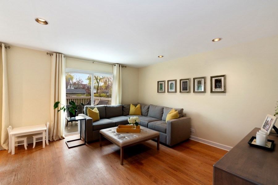 Real Estate Photography - 645 Lincoln Avenue West Ave, Highland Park, IL, 60035 - Family Room