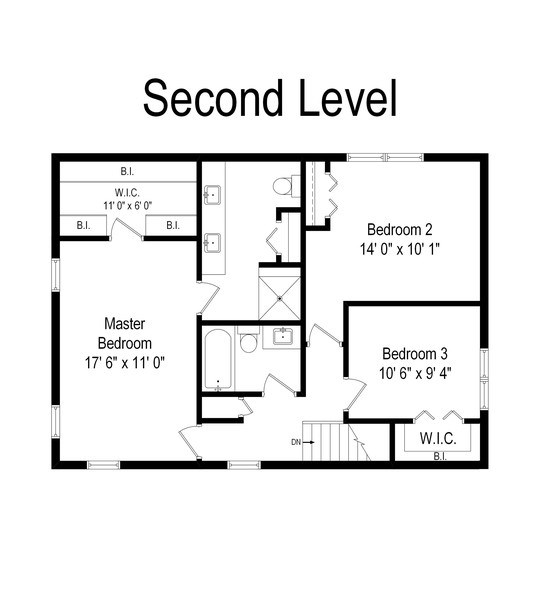 Real Estate Photography - 645 Lincoln Avenue West Ave, Highland Park, IL, 60035 - Floor Plan