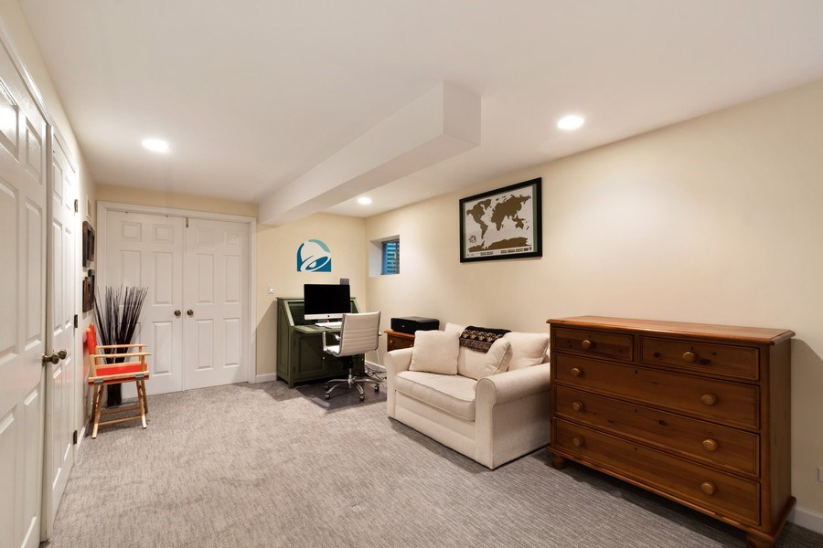 Real Estate Photography - 645 Lincoln Avenue West Ave, Highland Park, IL, 60035 - Office/4th Bedroom