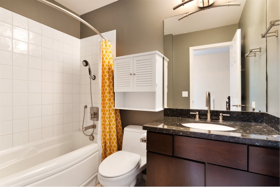 Real Estate Photography - 645 Lincoln Avenue West Ave, Highland Park, IL, 60035 - Bathroom