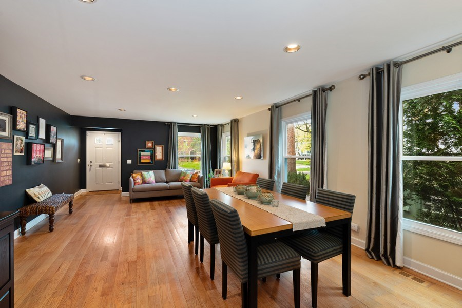 Real Estate Photography - 645 Lincoln Avenue West Ave, Highland Park, IL, 60035 - Living Room / Dining Room