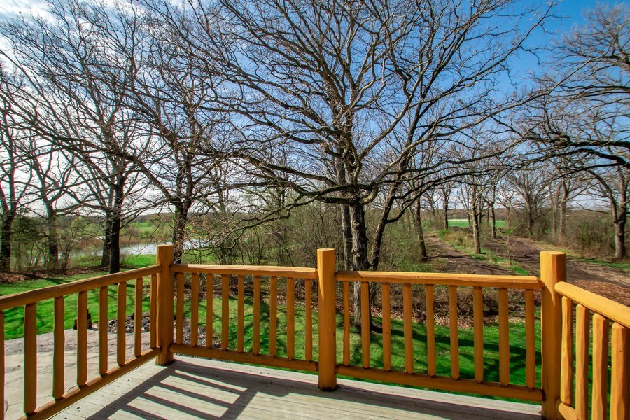 Real Estate Photography - 27735 41st St, Salem, WI, 53168 - Master Bedroom Deck
