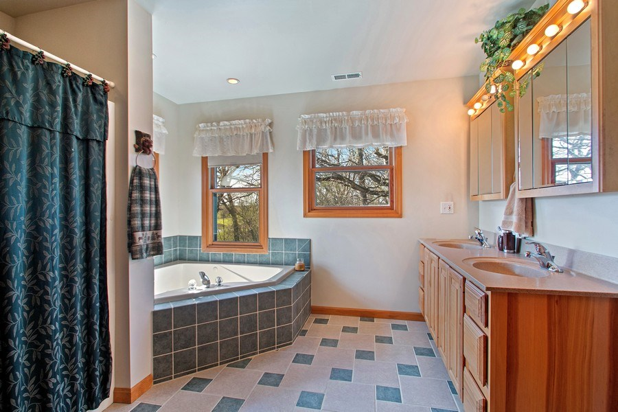 Real Estate Photography - 27735 41st St, Salem, WI, 53168 - Master Bathroom