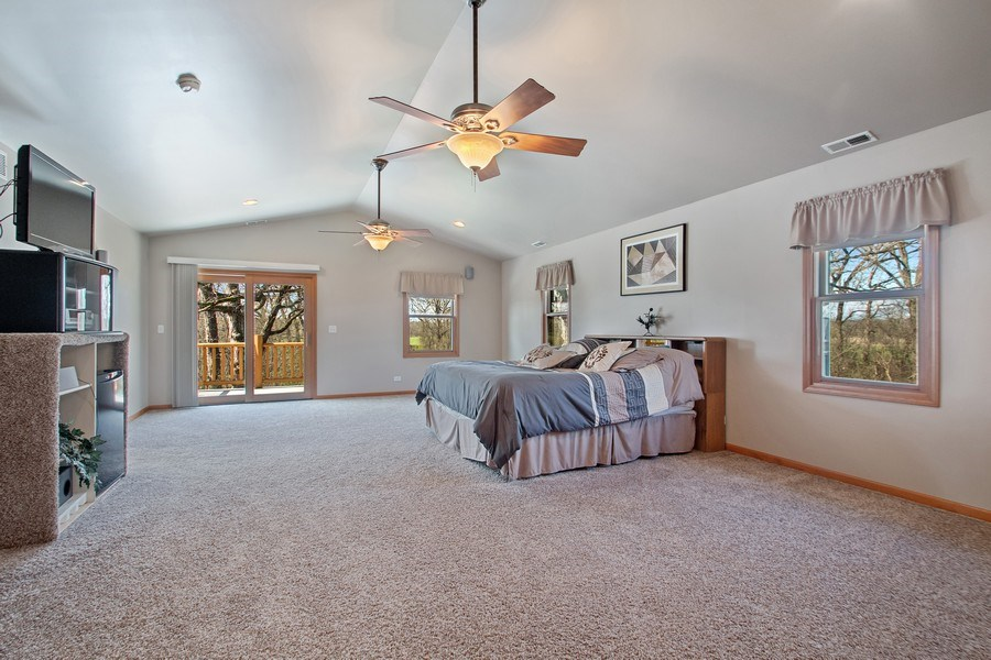 Real Estate Photography - 27735 41st St, Salem, WI, 53168 - Master Bedroom