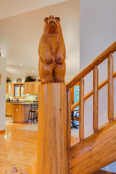 Real Estate Photography - 27735 41st St, Salem, WI, 53168 - Custom Staircase