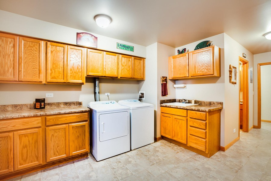 Real Estate Photography - 27735 41st St, Salem, WI, 53168 - Laundry Room/Mudroom and 1/2 Bath
