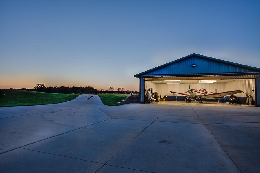 Real Estate Photography - 27735 41st St, Salem, WI, 53168 - Airplane Hanger