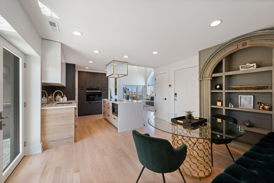 Real Estate Photography - 885 W. Lill Ave., #6, Chicago, IL, 60614 - Dining Area 2