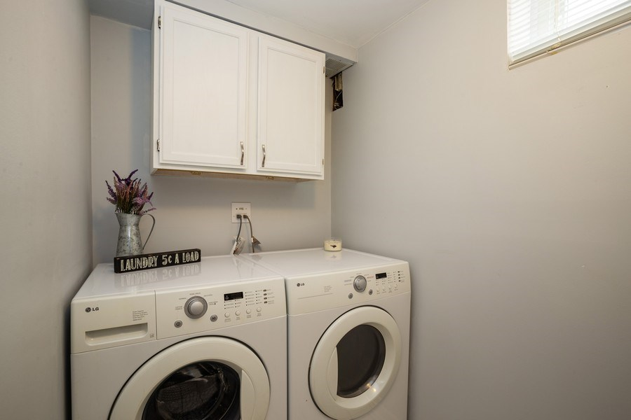 Real Estate Photography - 718 E Euclid Ave, Arlington Heights, IL, 60004 - Laundry Room