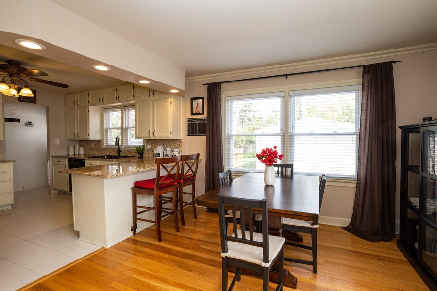 Real Estate Photography - 718 E Euclid Ave, Arlington Heights, IL, 60004 - Kitchen / Dining Room