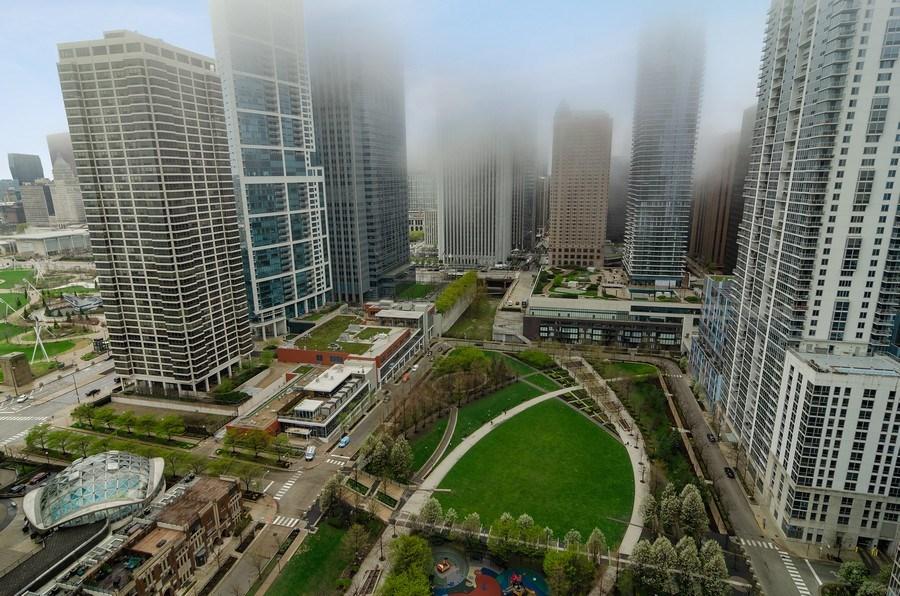 Real Estate Photography - 201 N Westshore Dr, Unit 1102, Chicago, IL, 60601 - Park View