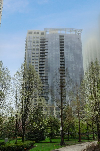 Real Estate Photography - 201 N Westshore Dr, Unit 1102, Chicago, IL, 60601 - Front View