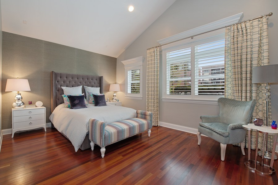 Real Estate Photography - 1834 W. Larchmont, Chicago, IL, 60613 - Master Bedroom