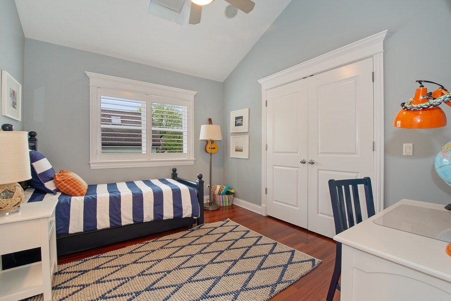 Real Estate Photography - 1834 W. Larchmont, Chicago, IL, 60613 - 3rd Bedroom