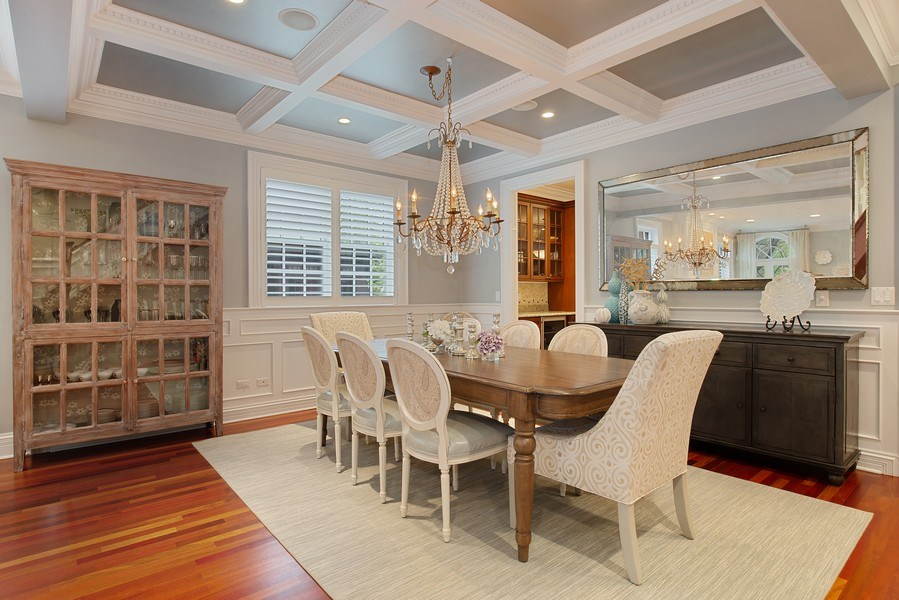 Real Estate Photography - 1834 W. Larchmont, Chicago, IL, 60613 - Dining Room