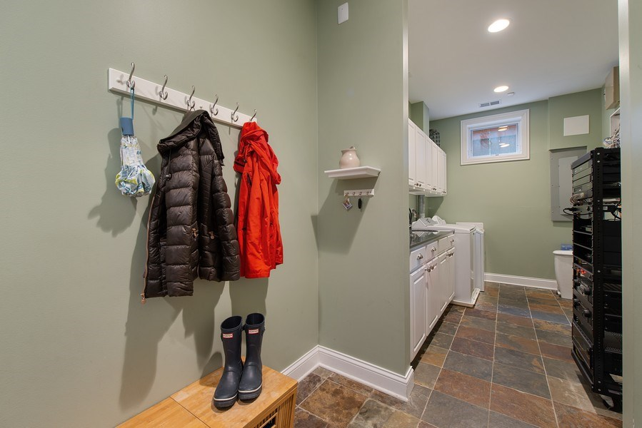 Real Estate Photography - 1834 W. Larchmont, Chicago, IL, 60613 - Laundry Room