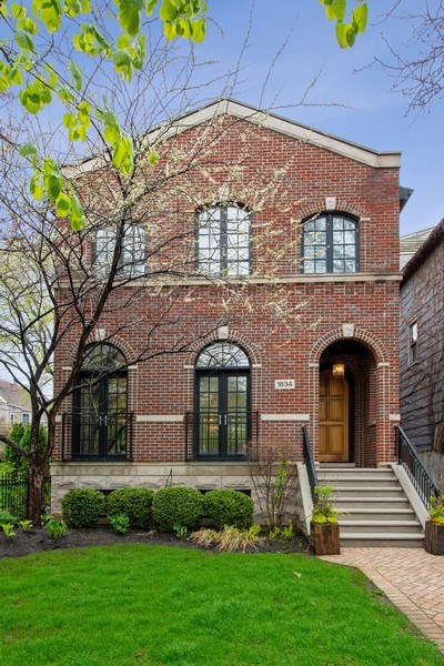 Real Estate Photography - 1834 W. Larchmont, Chicago, IL, 60613 - Front View