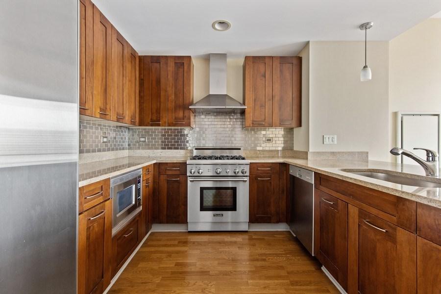 Real Estate Photography - 240 E. Illinois Street, Unit #2704, Chicago, IL, 60611 - Kitchen