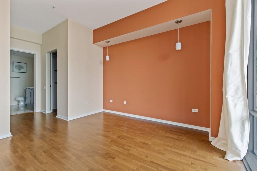 Real Estate Photography - 240 E. Illinois Street, Unit #2704, Chicago, IL, 60611 - Master Bedroom