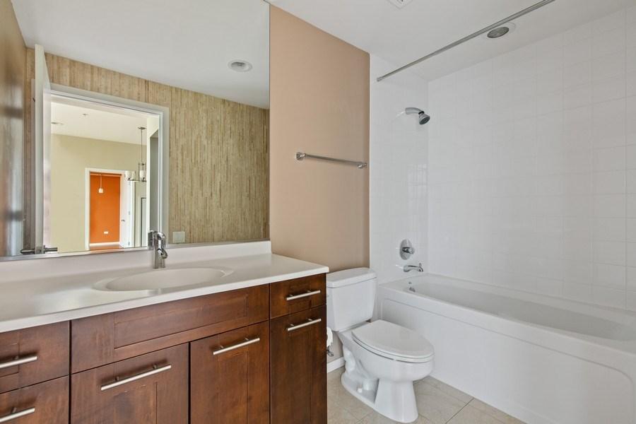Real Estate Photography - 240 E. Illinois Street, Unit #2704, Chicago, IL, 60611 - Bathroom