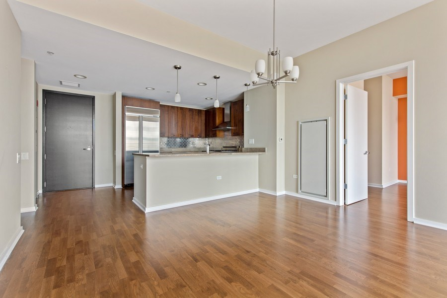 Real Estate Photography - 240 E. Illinois Street, Unit #2704, Chicago, IL, 60611 - Kitchen / Dining Room