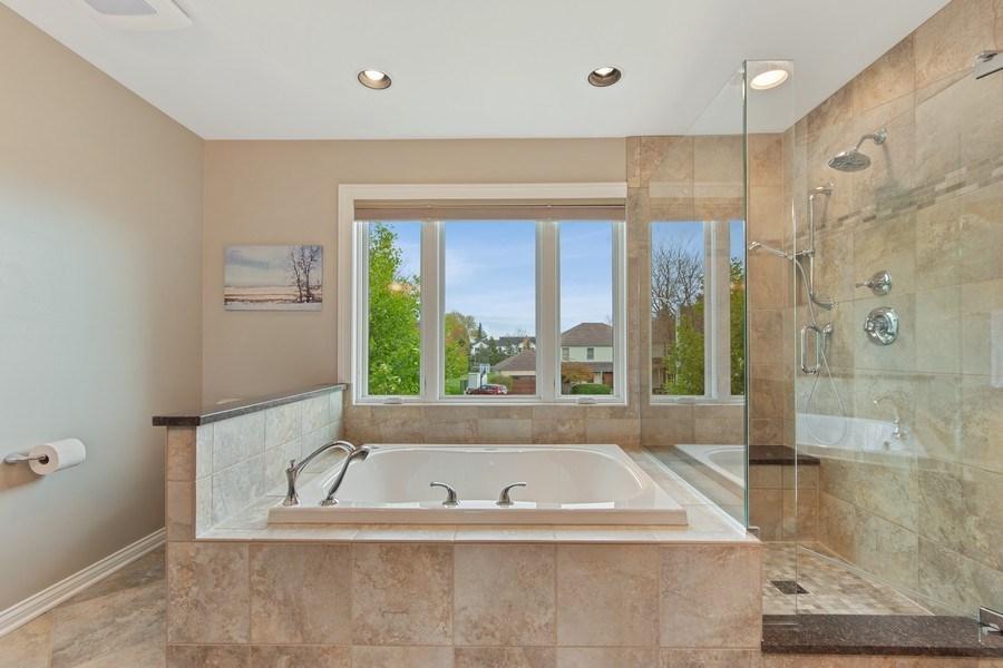 Real Estate Photography - 1075 Erica Dr, Wauconda, IL, 60084 - Master Bathroom