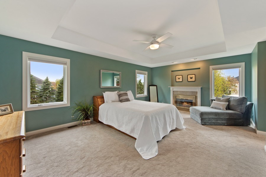 Real Estate Photography - 1075 Erica Dr, Wauconda, IL, 60084 - Master Bedroom