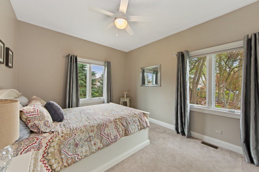 Real Estate Photography - 1075 Erica Dr, Wauconda, IL, 60084 - 2nd Bedroom