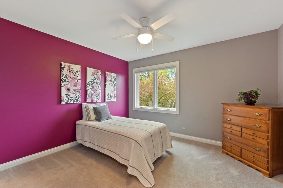 Real Estate Photography - 1075 Erica Dr, Wauconda, IL, 60084 - 3rd Bedroom