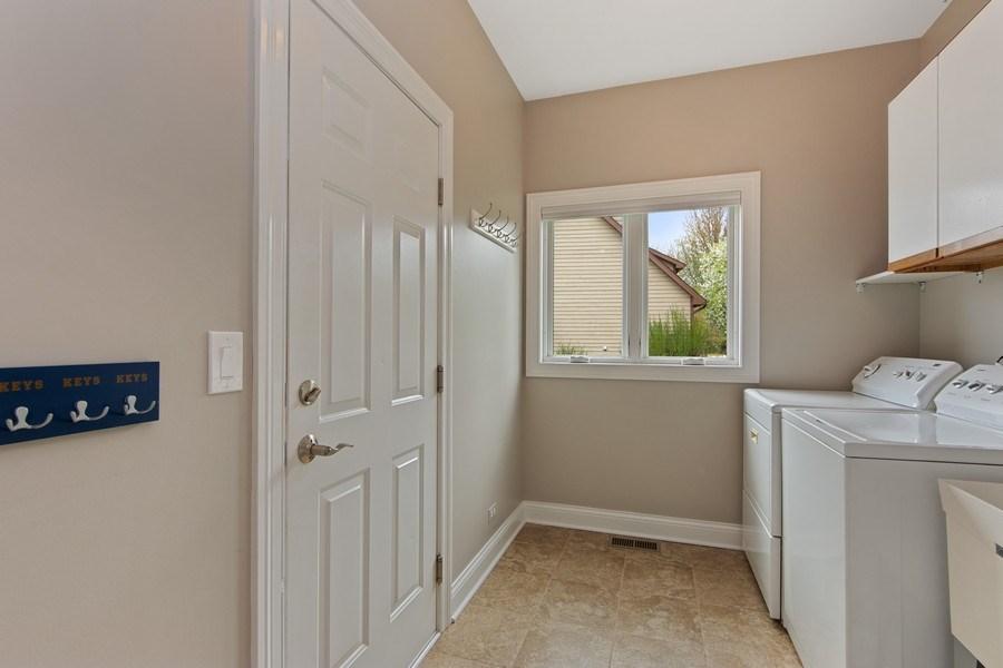 Real Estate Photography - 1075 Erica Dr, Wauconda, IL, 60084 - Mudroom