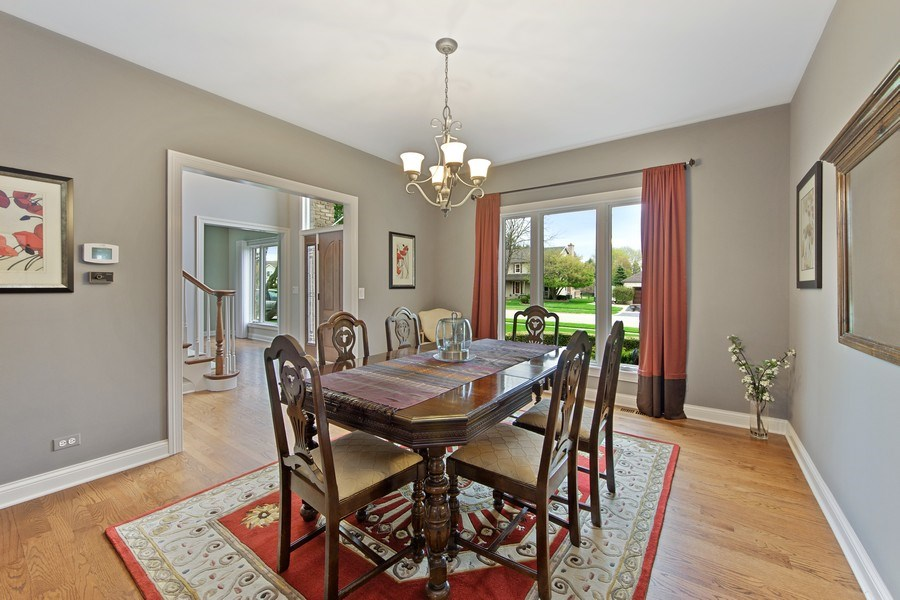Real Estate Photography - 1075 Erica Dr, Wauconda, IL, 60084 - Dining Room