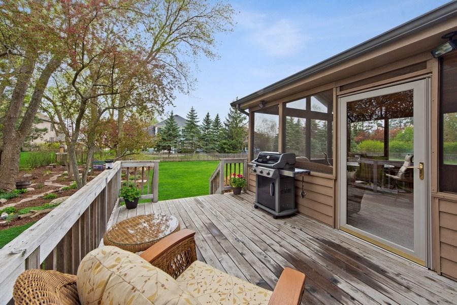 Real Estate Photography - 1075 Erica Dr, Wauconda, IL, 60084 - Deck