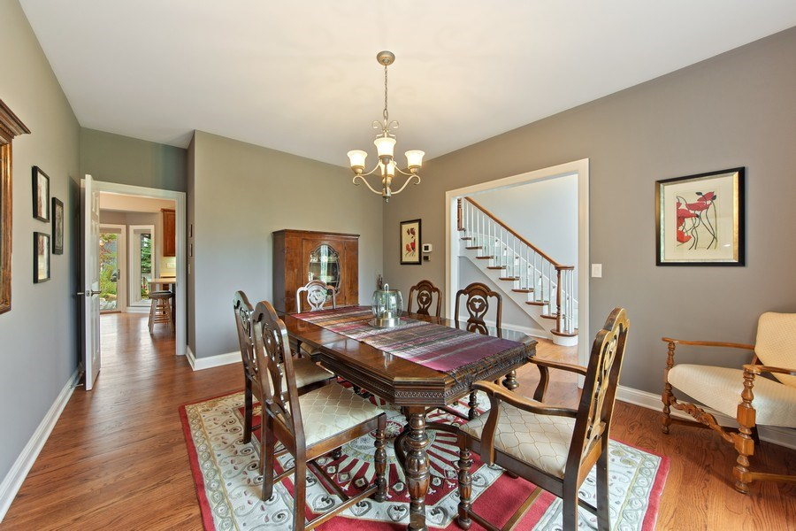 Real Estate Photography - 1075 Erica Dr, Wauconda, IL, 60084 - Kitchen / Dining Room