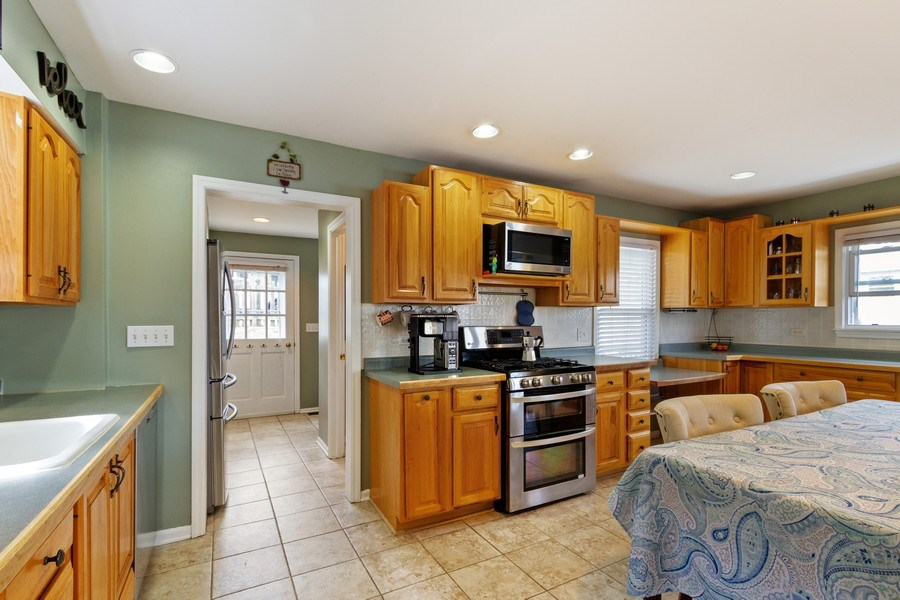 Real Estate Photography - 201 Dorothy, Island Lake, IL, 60042 - Kitchen