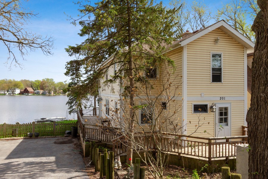 Real Estate Photography - 201 Dorothy, Island Lake, IL, 60042 - Front View