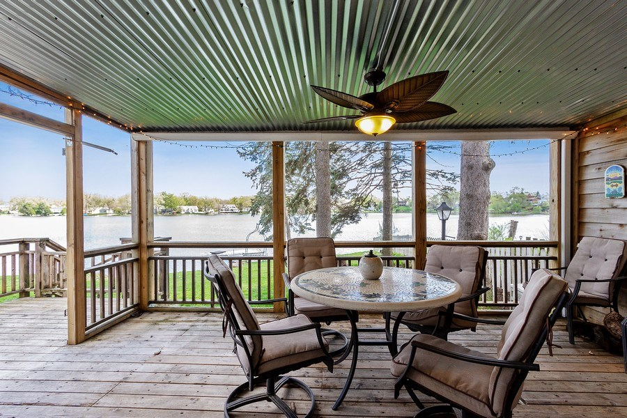 Real Estate Photography - 201 Dorothy, Island Lake, IL, 60042 - Sun Room