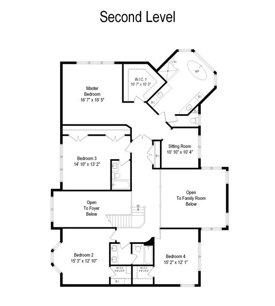 Real Estate Photography - 1009 Oakland Court, Barrington, IL, 60010 - Floor Plan