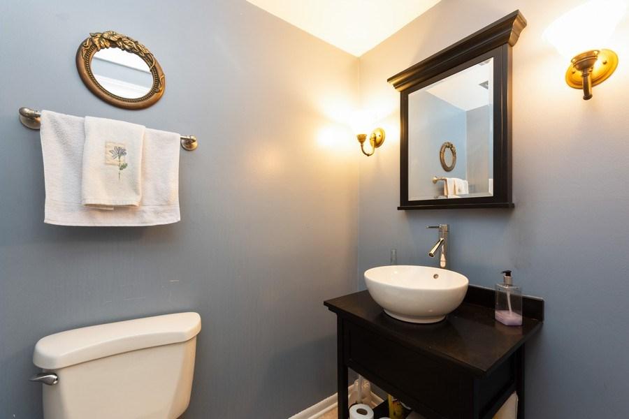 Real Estate Photography - 319 W cedar, Arlington Heights, IL, 60005 - Powder Room