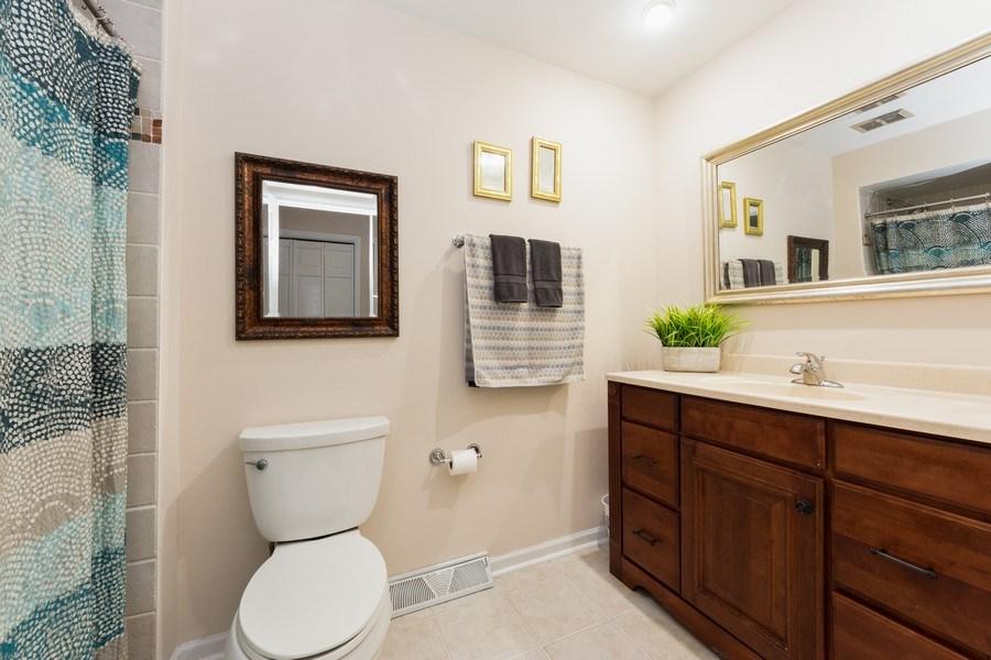 Real Estate Photography - 319 W cedar, Arlington Heights, IL, 60005 - 2nd Bathroom