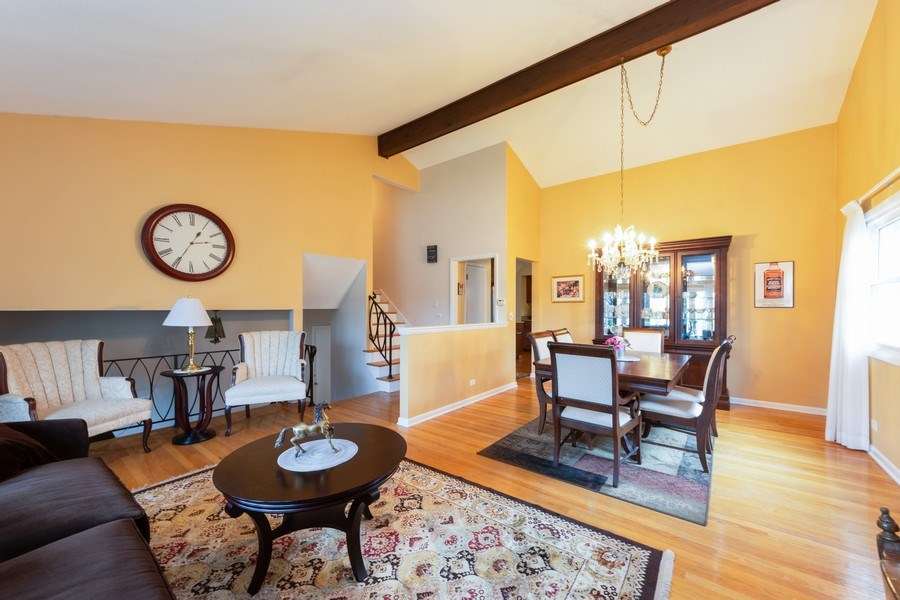 Real Estate Photography - 319 W cedar, Arlington Heights, IL, 60005 - Living Room / Dining Room