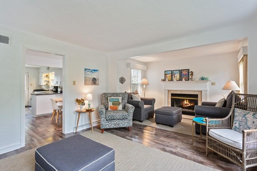 Real Estate Photography - 108 S. Barton, New Buffalo, MI, 49117 - Living Room
