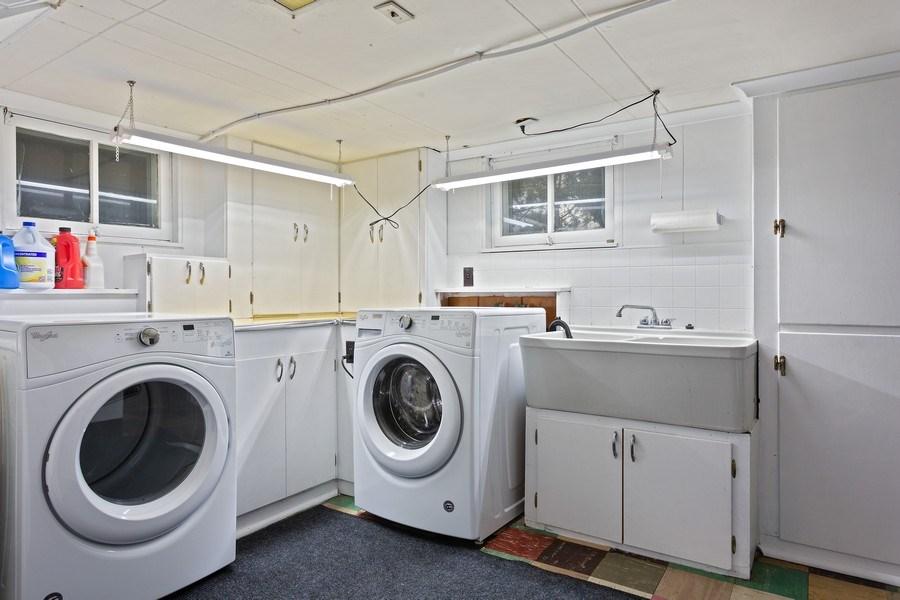 Real Estate Photography - 108 S. Barton, New Buffalo, MI, 49117 - Laundry Room