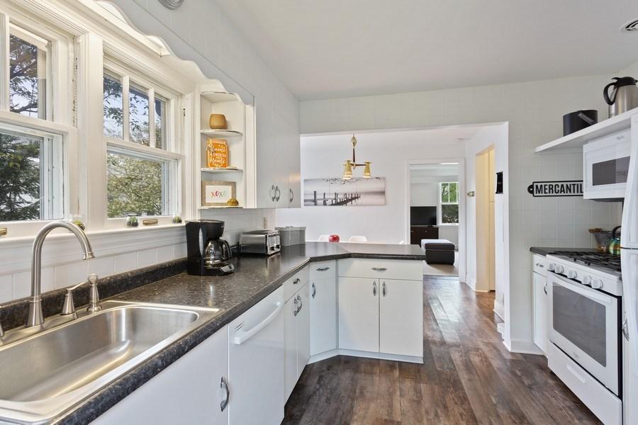 Real Estate Photography - 108 S. Barton, New Buffalo, MI, 49117 - Kitchen